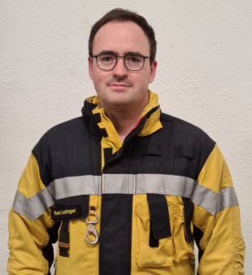 "Der Kommandant Stellvertreter des Depot Oberengstringen ""Ruedi Leuzinger""."